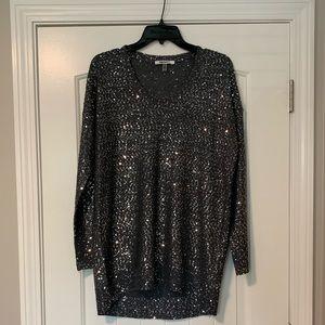 DKNYC Sequin Sweater